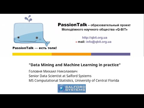 Data Mining and Machine Learning in practice