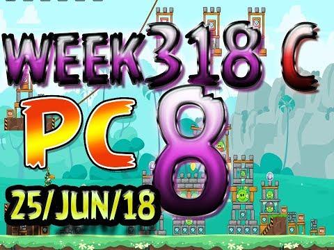 Angry Birds Friends Tournament Level 8 Week 318-C PC Highscore POWER-UP walkthrough
