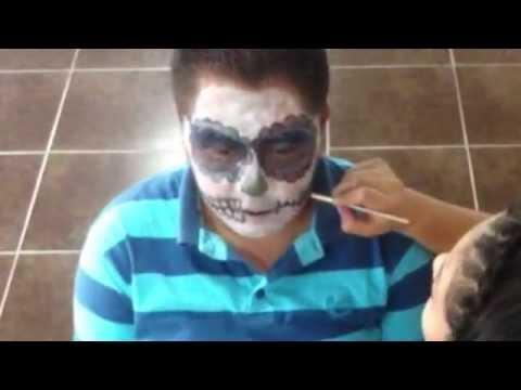 Maquillaje Para Día De Muertos - Catrin - Maff Cantú ❤️