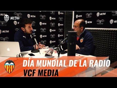 VALENCIA CF   ¡FELIZ DÍA MUNDIAL DE LA RADIO!