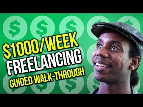 MAKE MORE MONEY AS A FREELANCER ($1000/Week)