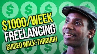 MAKE MORE MONEY AS A FREELANCER ($1000/Week)