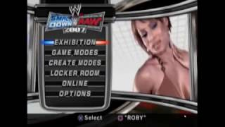 WWE SmackDown vs Raw 2007  roster , arenas and title