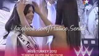 Hatice Sendil Miss Turkey 2001