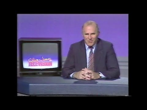 Clive James on Television - ITV, 14th August 1988