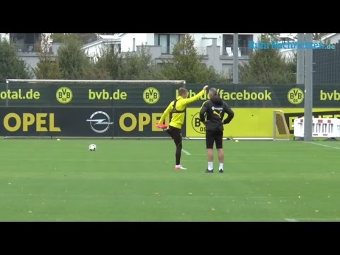 Marco Reus is back in training.