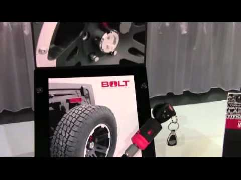 Jeep Spare Tire Lock By Bolt From Bolt Locks Id11827 Youtube