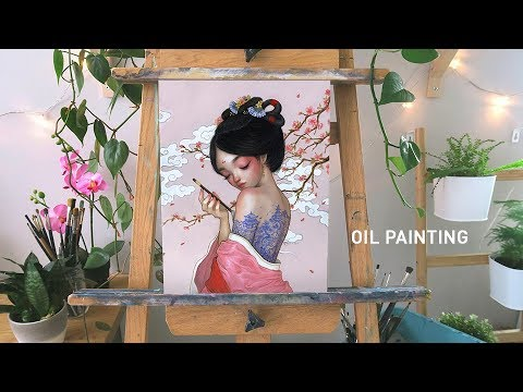 "oil-painting-time-lapse-🎨-""the-secret-painter"""