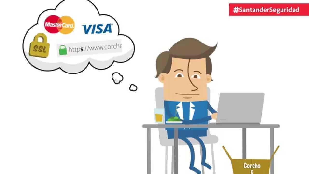 7983ce63a Cómo comprar por internet de forma segura – Consejos seguridad online Banco  Santander (2015) - YouTube