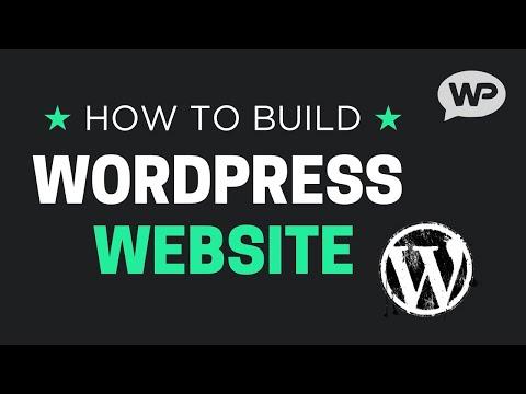 How To Build A WordPress Website 2016 – Easy WordPress Tutorial!