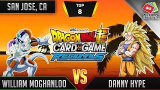 Dragon Ball Super Card Game Gameplay [DBS TCG] San Jose Regional Top 8