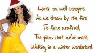 Selena Gomez - Winter Wonderland (With lyrics/download link)