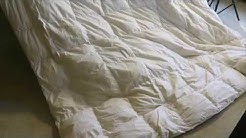 100% Egyptian Cotton 300 Thread Count 3 Piece Soft and Smooth Duvet Cover Set Review