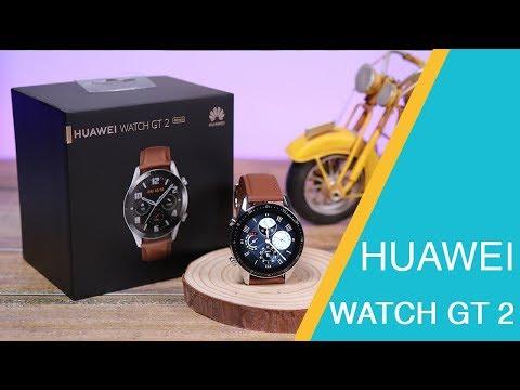 استعراض الساعة الذكية HUAWEI WATCH GT 2