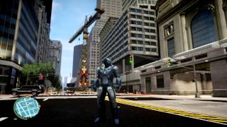 Grand Theft Ironman + Stark Tower Test Gameplay (HD)