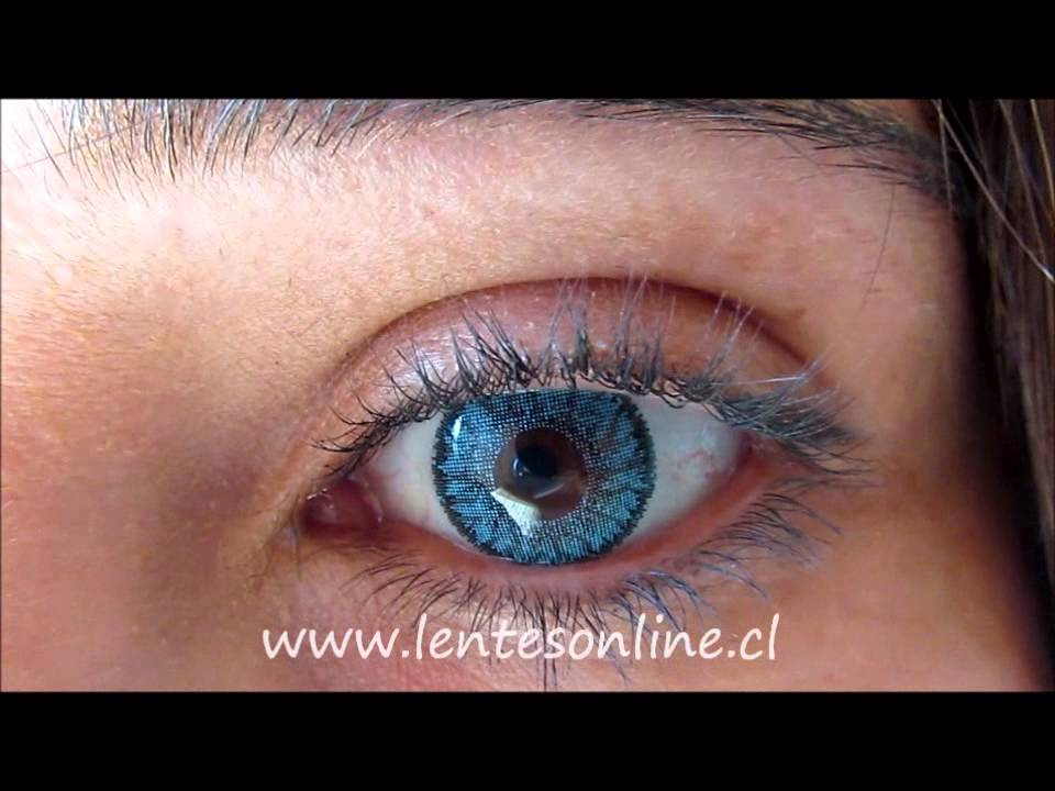 Bausch Amp Lomb Bicolor Starcolors Ii Blue Youtube