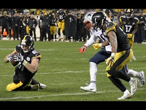 Did refs made right call on Jesse James touchdown replay? Breaking down Patriots