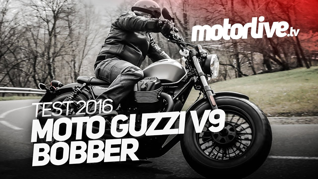 test moto guzzi v9 bobber youtube. Black Bedroom Furniture Sets. Home Design Ideas