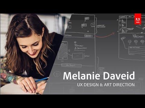 Live UX Design mit Melanie Daveid - Adobe Live 2/3