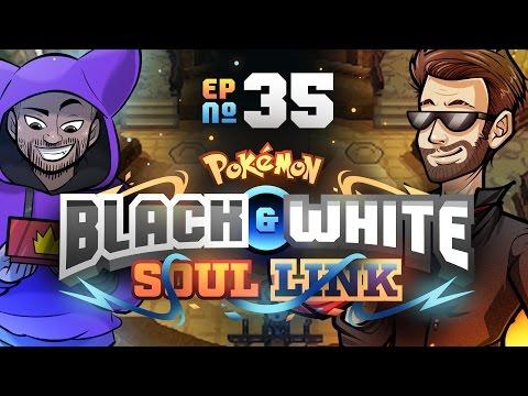 Elite Four Begins!   Pokémon Black & White Randomized Soul Link Nuzlocke w/ TheKingNappy