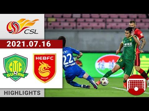 Beijing Guoan Hebei Zhongji Goals And Highlights