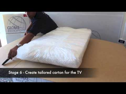 International Moving - Packing Techniques - TV