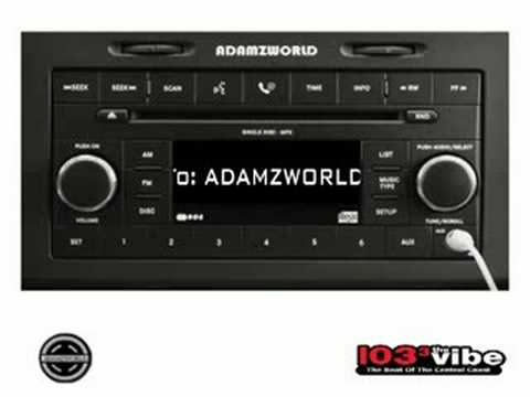 SHOT OUT TO ADAMZWORLD - 103.3 THE VIBE