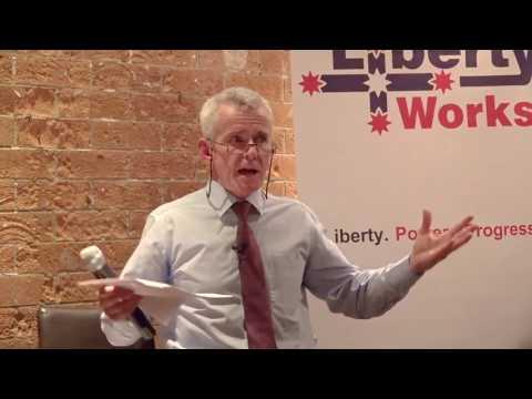 Liberty Works: Alan Moran book launch