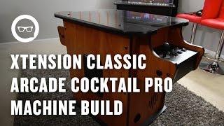 Building an Arcade Machine: Xtension Classic Arcade Cocktail Pro Machine