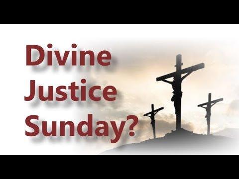 Divine Mercy, Divine Justice