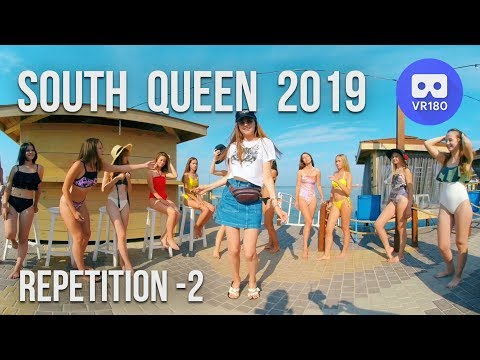 VR180 3D. South Queen 2019. Swimsuits Repetition. Part 2