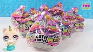 Poopsie Cutie Tooties Wave 2 Slime Blind Bag Figures Unboxing | PSToyReviews