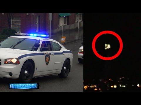 WHOA!! POLICE AND FIRE DEPARTMENT CHASE MASSIVE UFO OVER WA!! [RAW UFO VIDEO] 8/16/2016