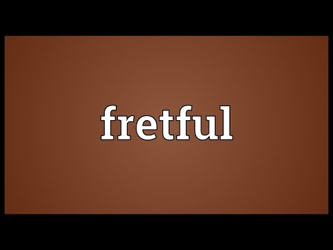 Header of fretful
