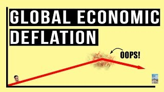 The Severe Global Economic DEFLATION Rages On! Real Economy and Stock Market Diverge.