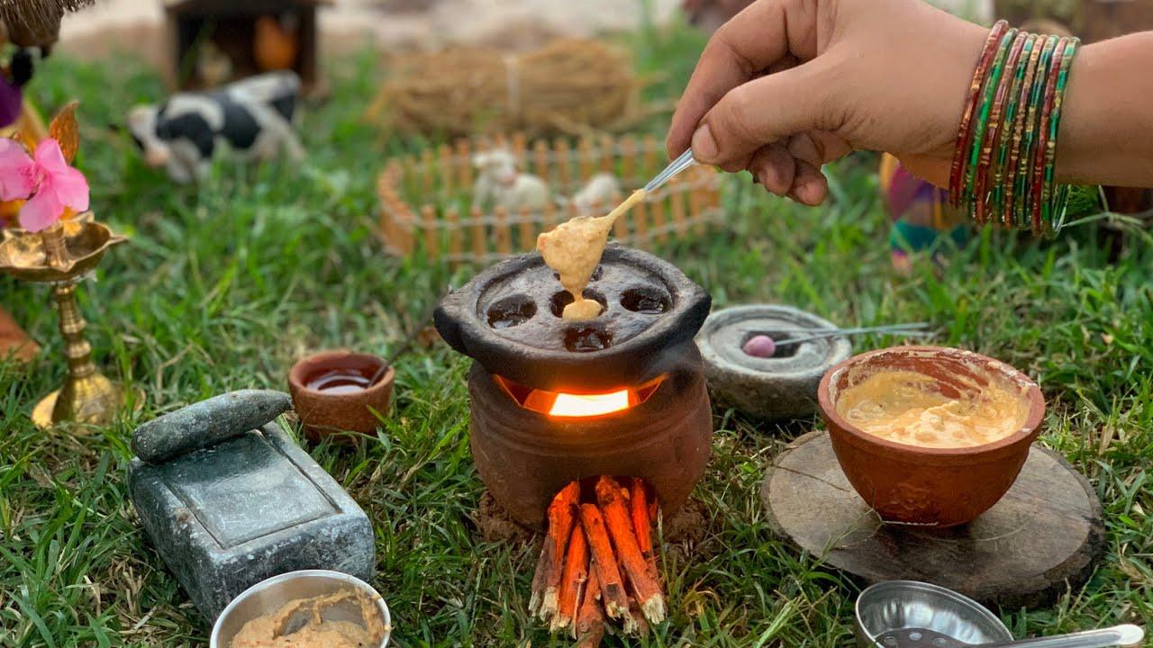 Miniature Masala Paniyaram | Chettinad Style Paniyaram | மசாலா குழி பணியாரம் | The Tiny Foods