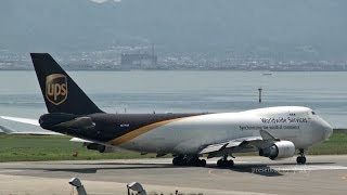 [関西空港] United Parcel Service - UPS Boeing 747-44AF/SCD [N574UP] at Kansai International Airport