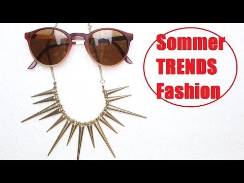 Trends Frühling / Sommer Fashion