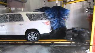 Motor City Wash Works Cross Over wrap around at 150 cars per hour 11 11 15