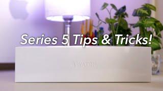 10 Apple Watch (Series 5) Tips & Tricks!