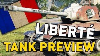 World of Tanks    AMX M4 mle. 49 Liberté - Tank Preview