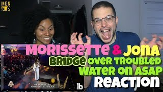 Morissette & Jona - Bridge Over Troubled Water LIVE On ASAP | REACTION
