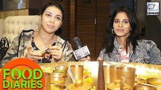 Shweta Mahadik And Sehrish Ali's Thali Eating Challenge | Food Diaries
