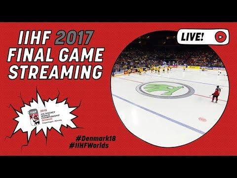 Historic #IIHFWorlds Finals: Canada vs. Sweden 2017