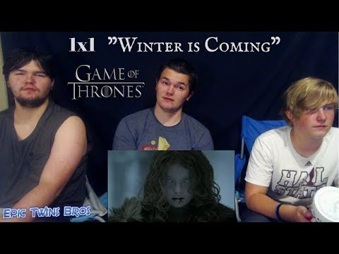"""Game of Thrones REACTIONS 1x1 """"Winter is Coming"""""""
