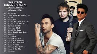 Maroon 5, Ed Sheeran, Taylor Swift, Adele, Sam Smi