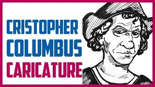 CHRISTOPHER COLUMBUS CARICATURE | Speed drawing a caricature of Christopher Columbus