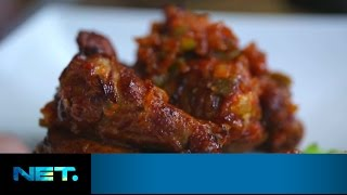 Feni Rose - Hot N Spicy Chicken Wings (buldak) | Queen At Home | Farah Quinn | Netmediatama