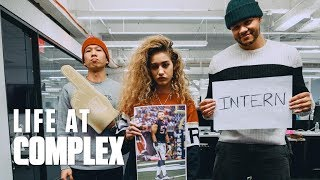 OUR INTERN IS AN NFL PLAYER! | #LIFEATCOMPLEX