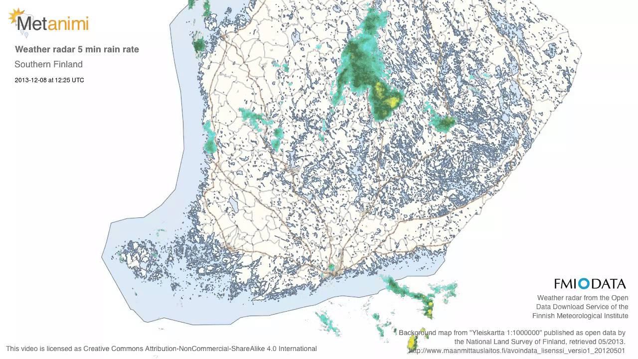 Weather Radar Finland